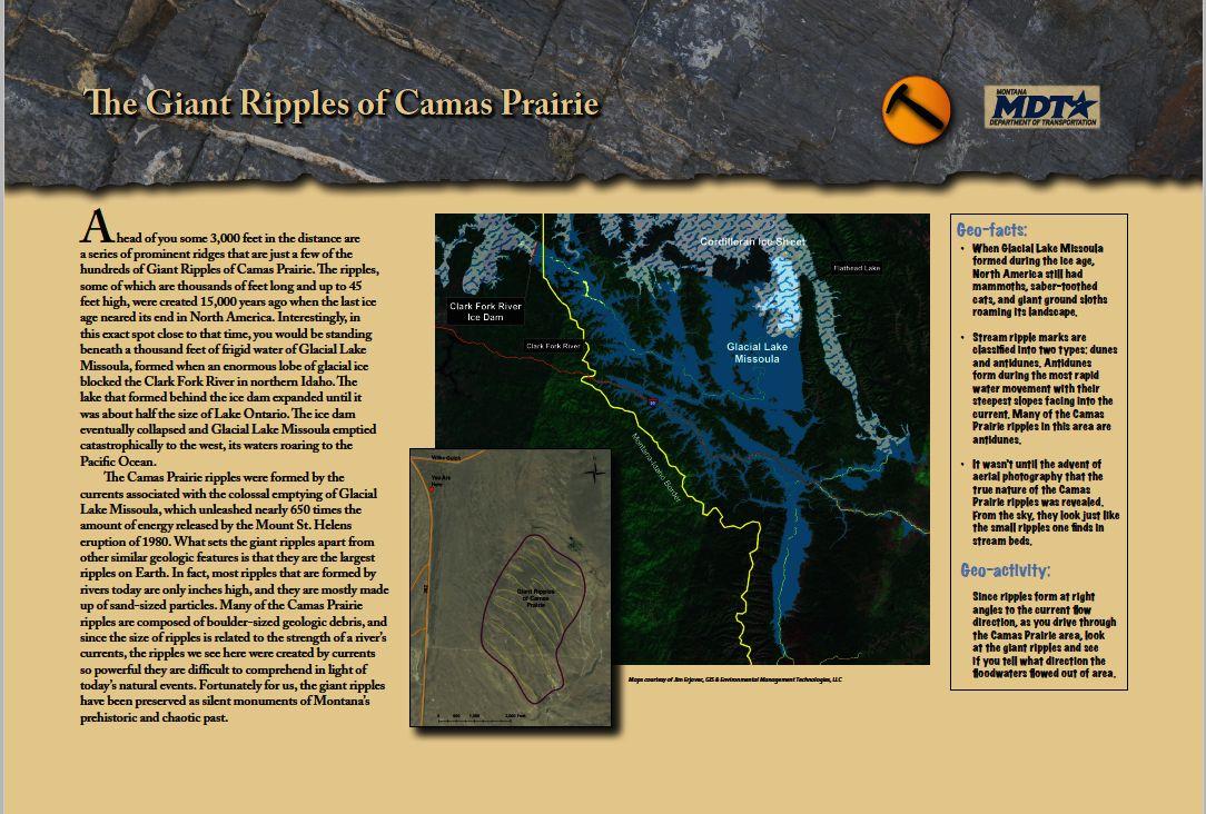 Camas Prairie   GIS & Environmental Management Technologies, LLC